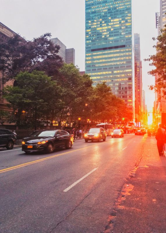 Le ManhattanHenge : un coucher de soleil unique à New-York